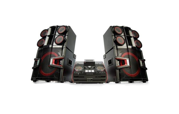 3200W 2.2ch HiFi DJ System with Dual Subwoofers and Bluetooth Connectivity 83a51d4deb