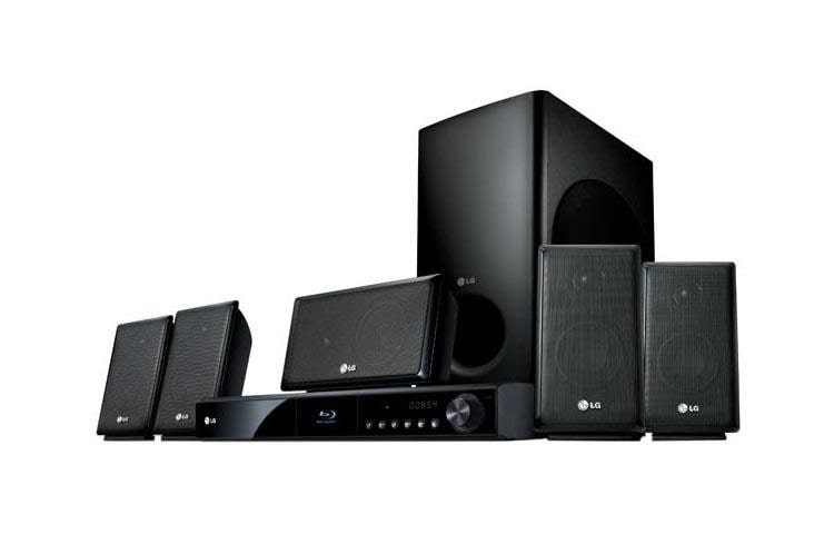 LG LHB335: 3D Capable Blu ray Disc™ Home Theater System ...