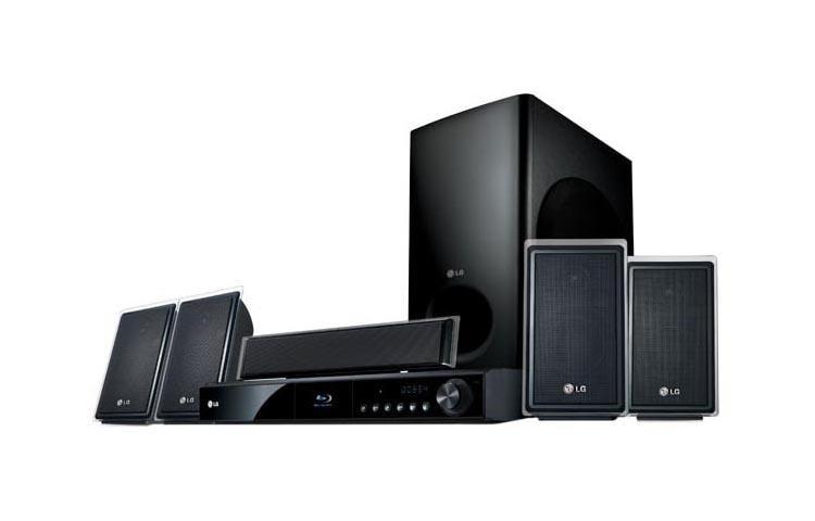 Lg Lhb535 1000 Watt 5 Disc Dvd Player Xm 174 Home Theater