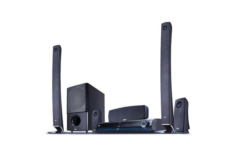 LG LHB977: Flat Speaker Home Theater System (700 watts)   LG USA