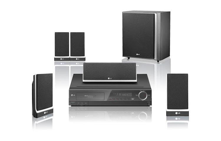 5-Disc Home Theater System (1000 watts)