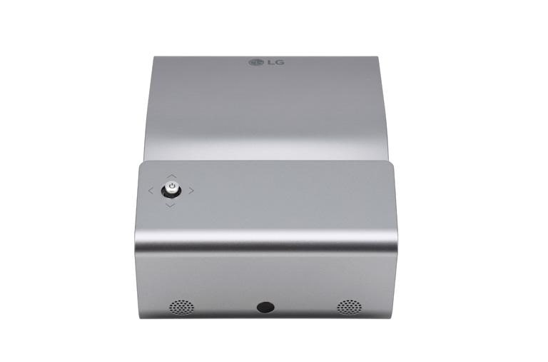 Ultra Short Throw LED Projector with Embedded Battery