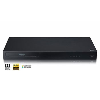 4K Ultra-HD Blu-ray Disc™ Player with Dolby Vision®1