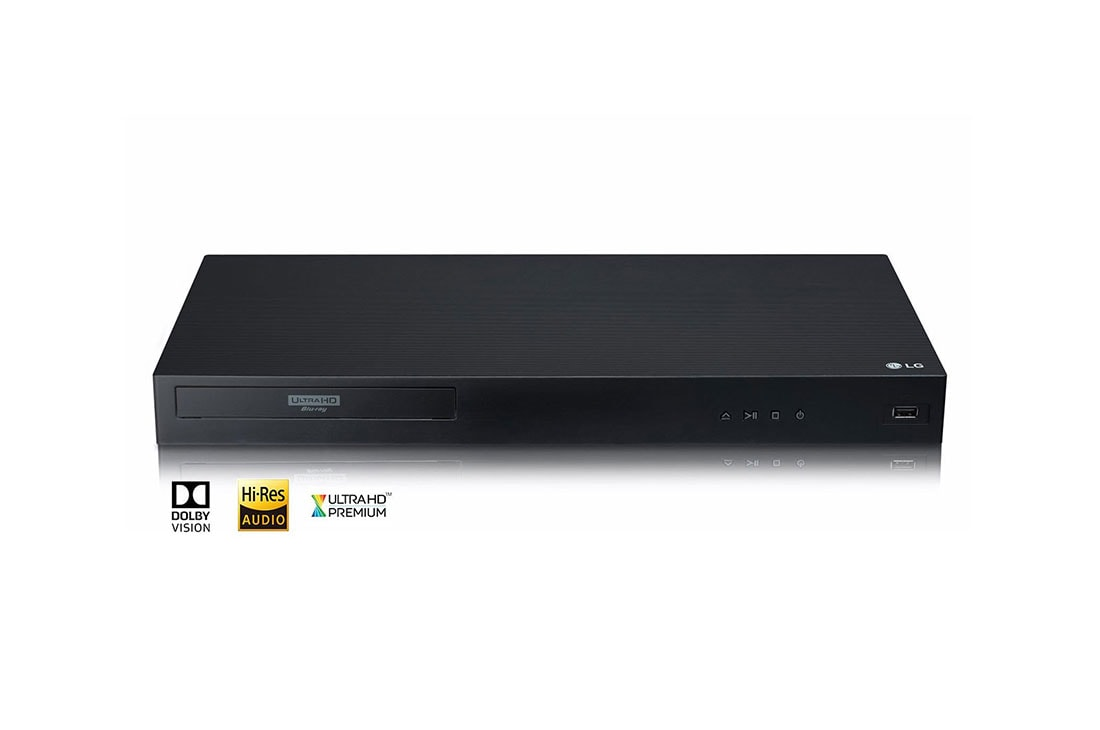4K Ultra-HD Blu-ray Disc™ Player with Dolby Vision®