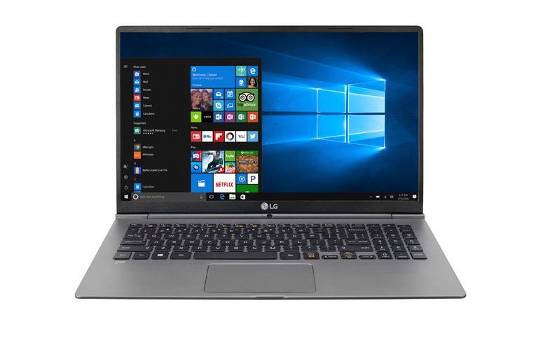 "LG gram 15 6"" Ultra-Lightweight Touchscreen Laptop with Intel® Core™ i7  processor"