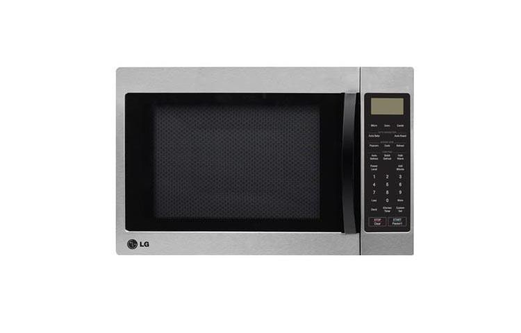 steel cu ft convection sharp carousel ip black interior microwave oven stainless countertop