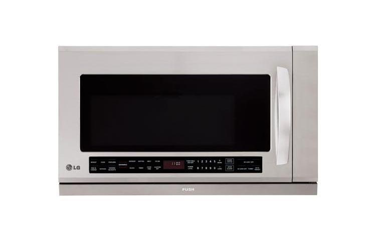 Over The Range Microwave Oven With Extenda Vent And Warming Lamp