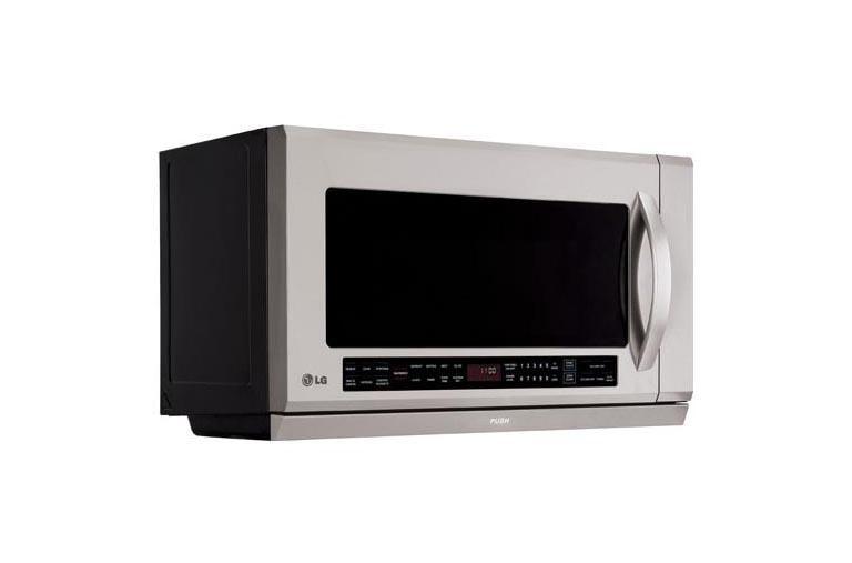 Range Microwave Oven With Extenda Vent