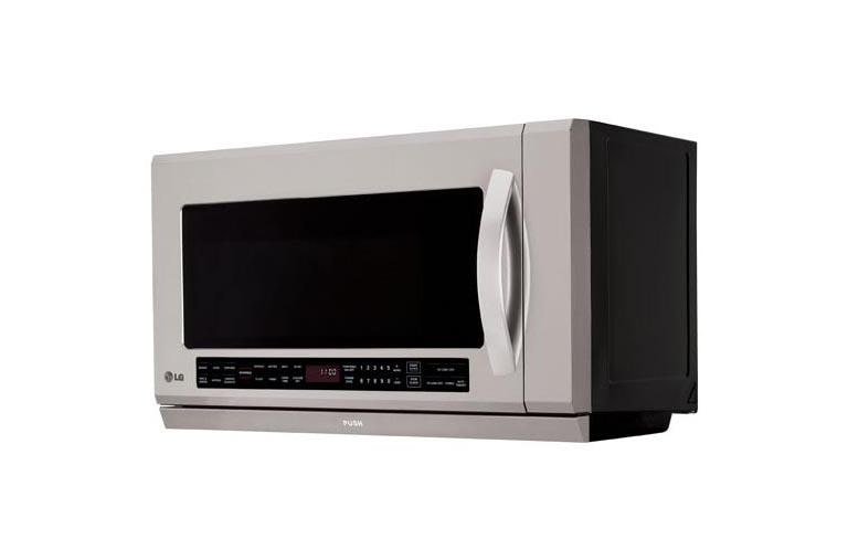 2 0 Cu Ft Over The Range Microwave Oven With Extenda Vent And Warming Lamp