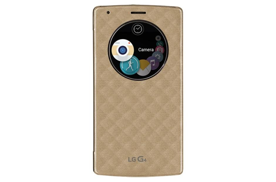 LG Quick Circle™ Snap-On Folio Case for LG G4™ (Not Compatible with Genuine  Leather Cover)