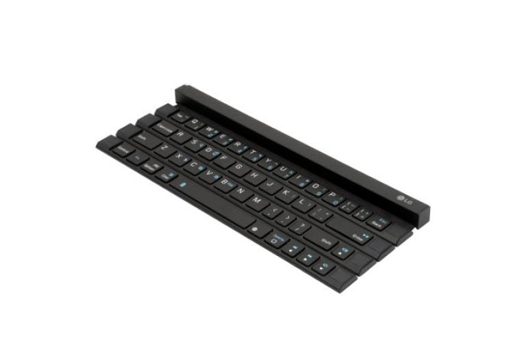 Mobile Accessories LG Portable & Bluetooth® Wireless Rolly Keyboard™ thumbnail 2