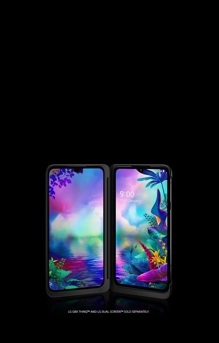 LG G8X THINQ™ AND LG DUAL SCREEN™ SOLD SEPARATELY