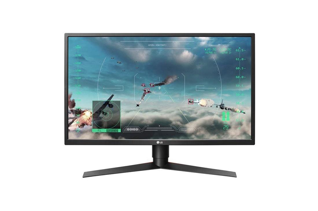 LG 27GK750F-B 27 Inch UltraGear™ Full HD G-SYNC Compatible Gaming Monitor with Adaptive Sync, 27GK750F-B