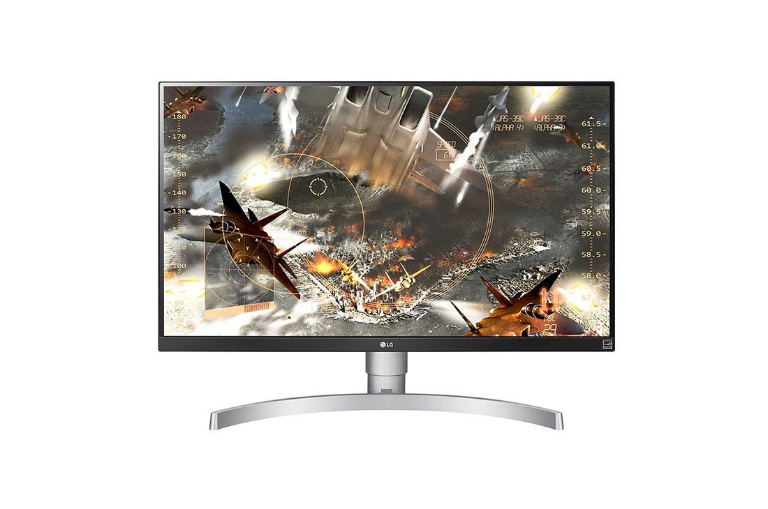 LG 27UL650-W 4K LED Monitor