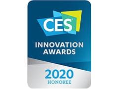 Častno priznanje CES 2020 za inovacije na področju računalniške zunanje opreme in dodatkov