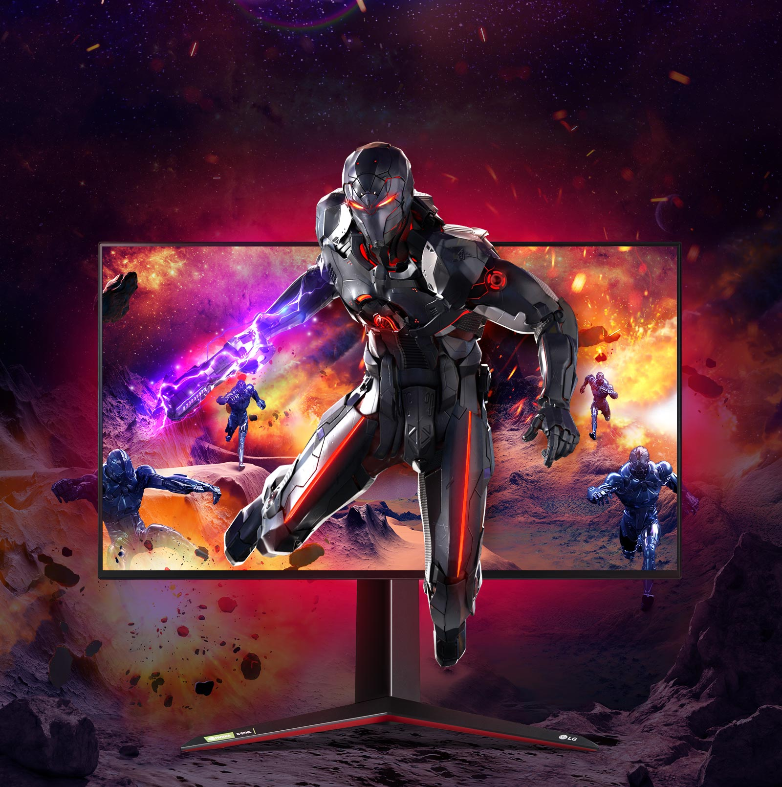 World's First 4K IPS 1ms (GtG) Gaming Monitor