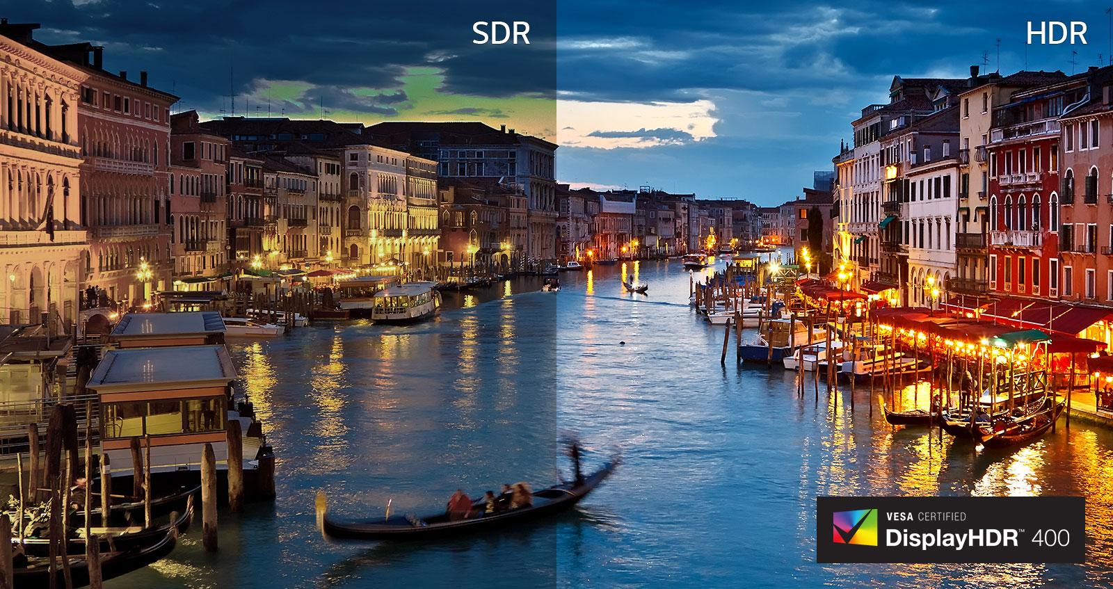 SDR VS. HDR