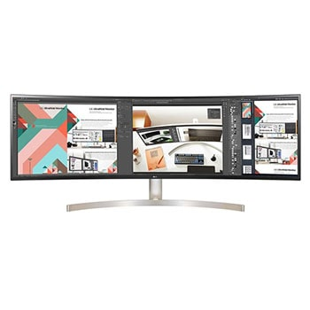 LG 49WL95C-WE 49 Inch 32:9 UltraWide Dual QHD IPS Curved LED Monitor with HDR 101