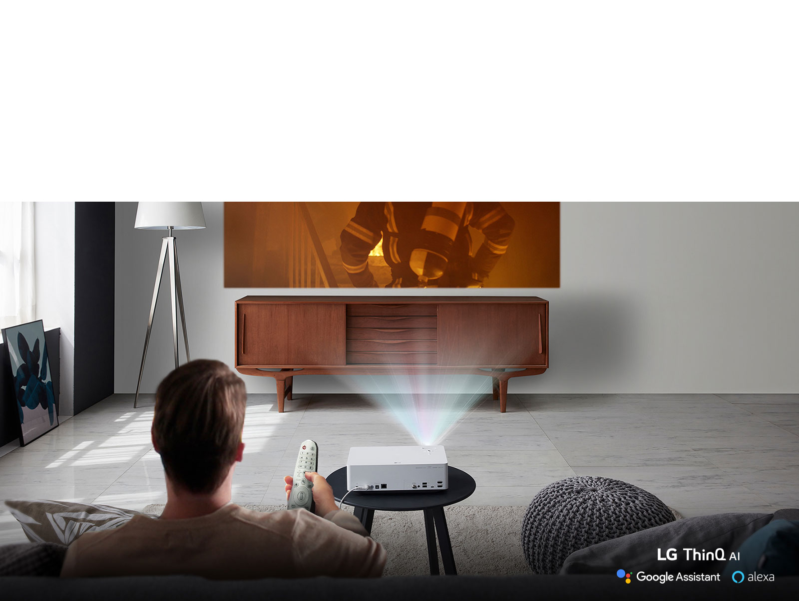 See How Intelligent A Projector Can Be3