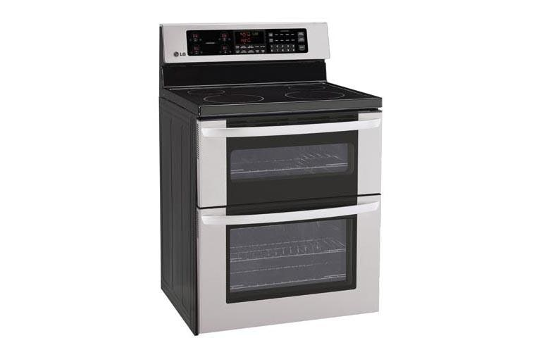 Lg lde3011st electric double oven range with a tall upper oven lg usa lde3011st 1 lde3011st 2 publicscrutiny Images