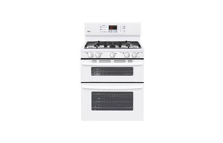 ldg3015sw - Double Oven Gas Range
