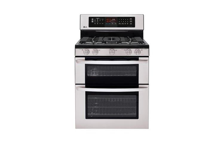 Lg Ldg3037st Gas Double Oven Range With Infrared Grill Lg Usa
