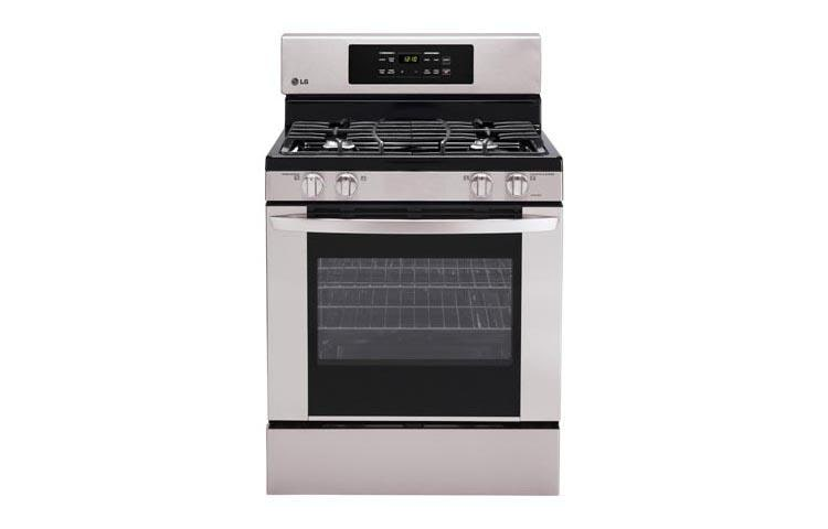 Capacity Gas Single Oven Range With 4 Burners