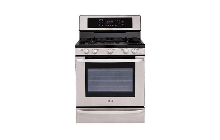 LG LRG3095ST Gas Single Oven Range with Convection System