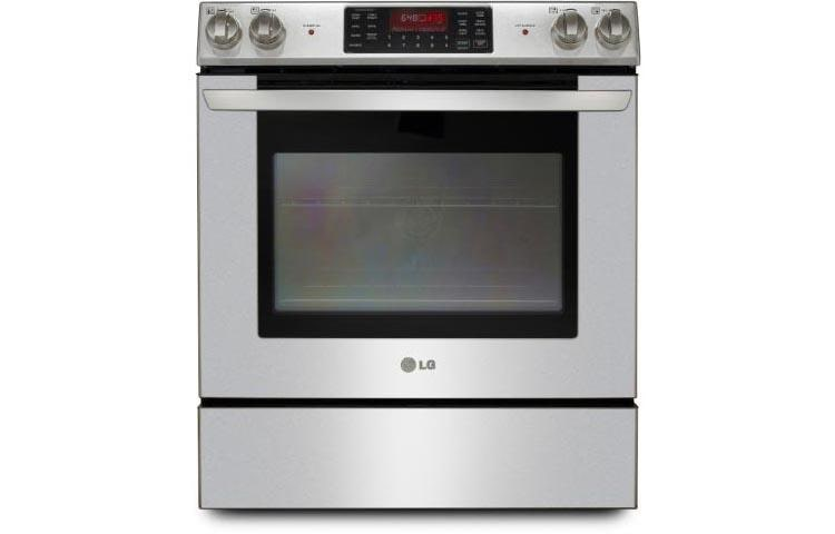 Slide In Range With Large Capacity Oven
