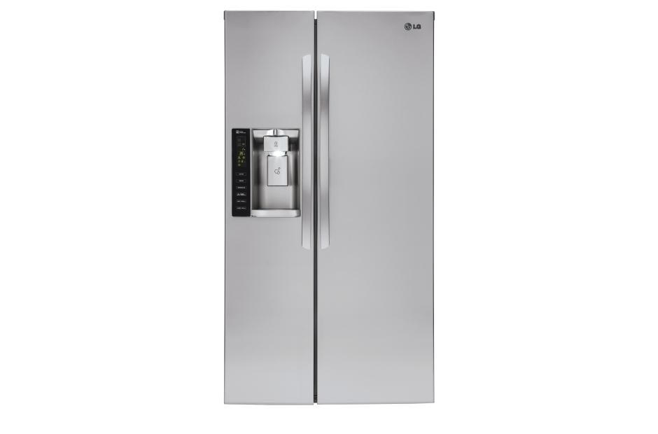 Lg Lsxc22426s Large Side By Side Counter Depth Refrigerator Lg Usa