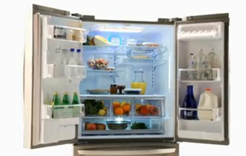 *Compared To LGu0027s Standard Width French Door Refrigerator.