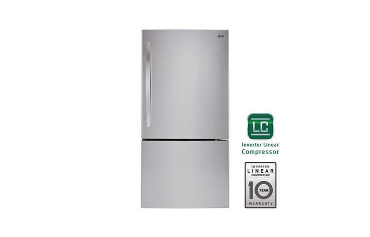 Lg Lbc24360st Large Swing Door Bottom Freezer Refrigerator Lg Usa