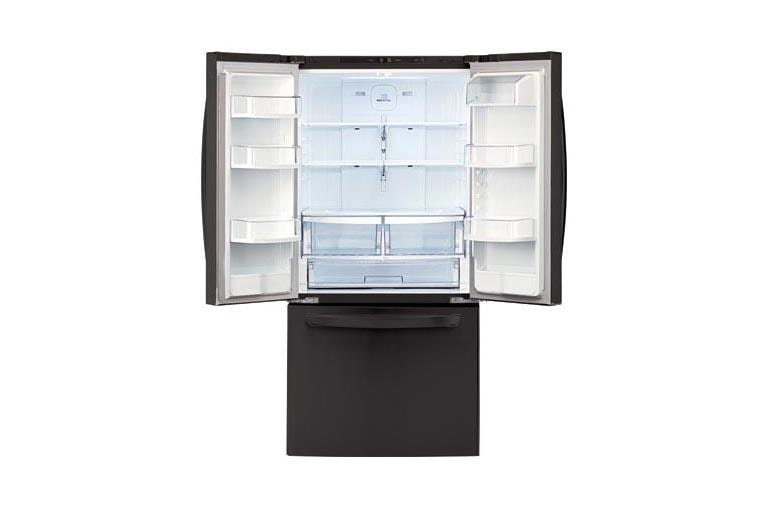 Lg Lfc22770sb 30 Inch Wide 3 Door French Door Refrigerator Lg Usa