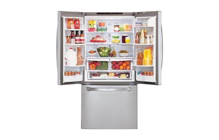 Beau LG LFC22770ST: 30 Inch Wide 3 Door French Door Refrigerator | LG USA