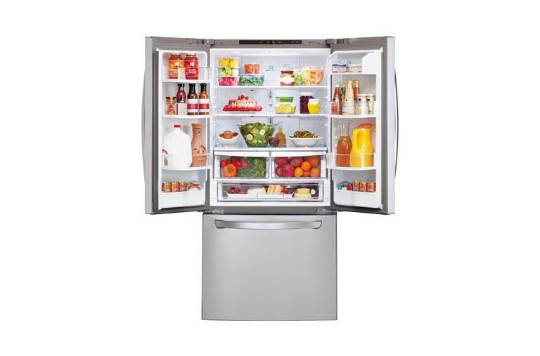 Lg Lfc24770st Ultra Capacity 3 Door French Door Refrigerator Lg Usa