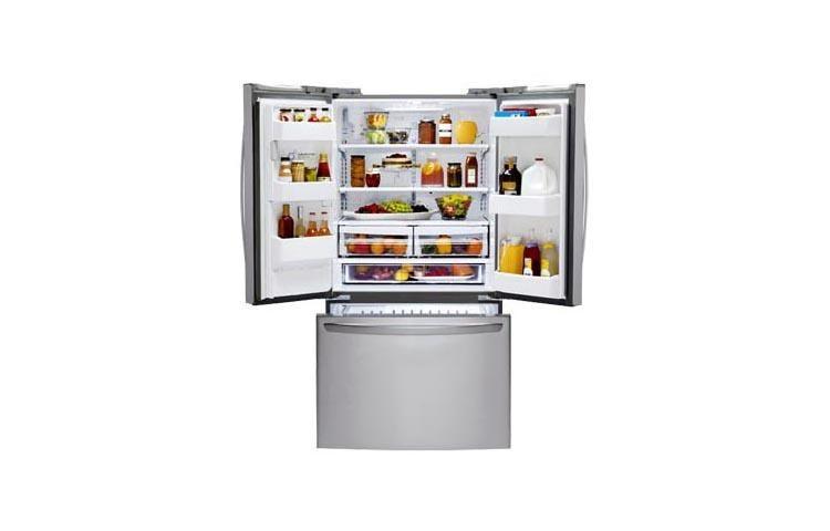 LG USA | LG LFX25974ST: Large 3 Door French Door Refrigerator