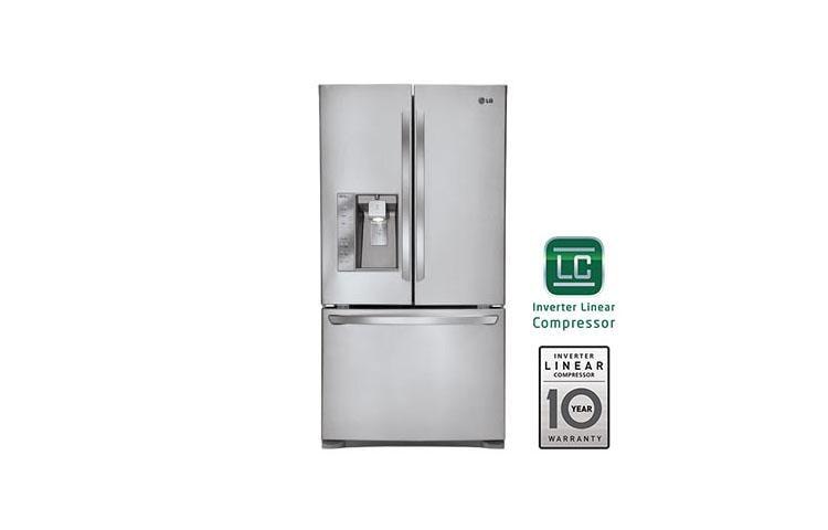lg lfx31925st 3 door french door smart cooling refrigerator lg usa rh lg com LG Wine Refrigerator LG Fridge