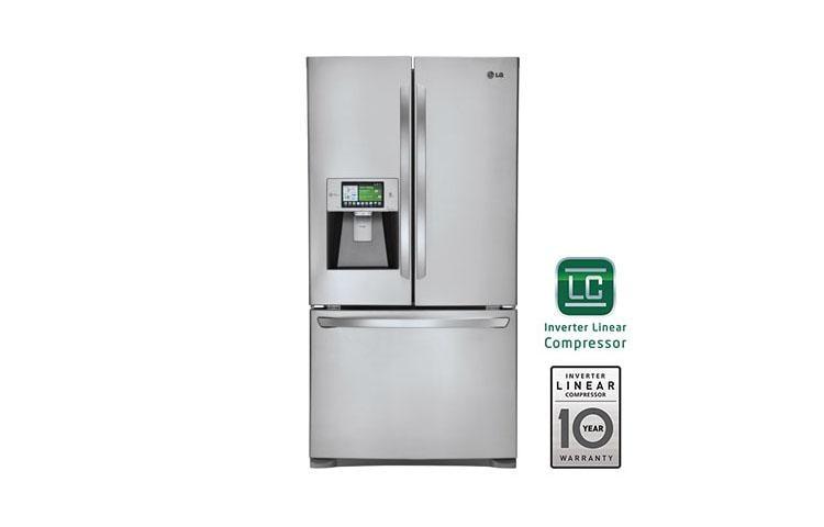 LG LFX31995ST: Smart ThinQ 3 Door Refrigerator W/ LCD Screen | LG USA