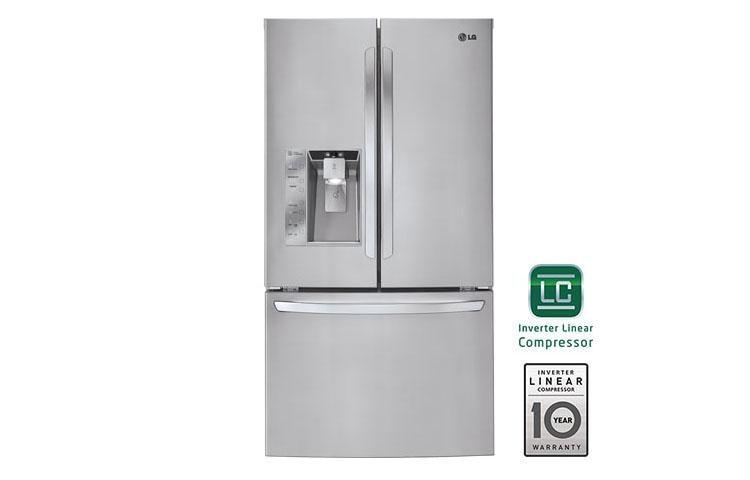 Lg Lfx33975st Mega Capacity 3 Door French Refrigerator Usa