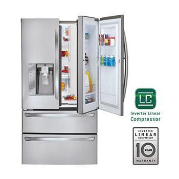 Lg Lmx30995st 4 Door Door In Door Refrigerator Lg Usa
