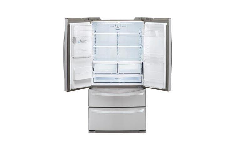 Lg Lmxs27626s Ultra Capacity 4 Door French Door Refrigerator Lg Usa
