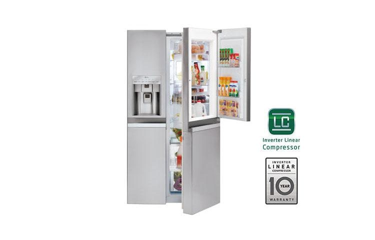 45804a4a43a LG LSC22991ST  Large Side-by-Side Refrigerator w Door-in-Door