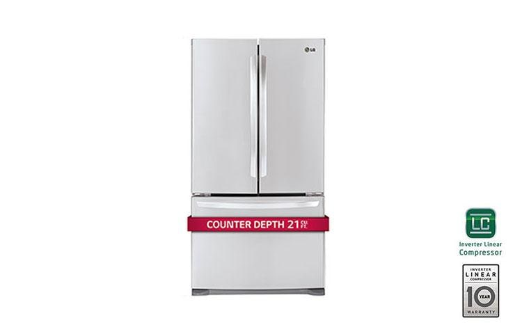 Best Counter Depth Refrigerator 2015 >> Lg Lfc21776st 3 Door French Door Counter Depth Refrigerator Lg Usa