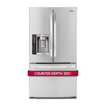 Beau French Door Counter Depth Refrigerator