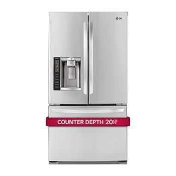 Beau French Door Counter Depth Refrigerator