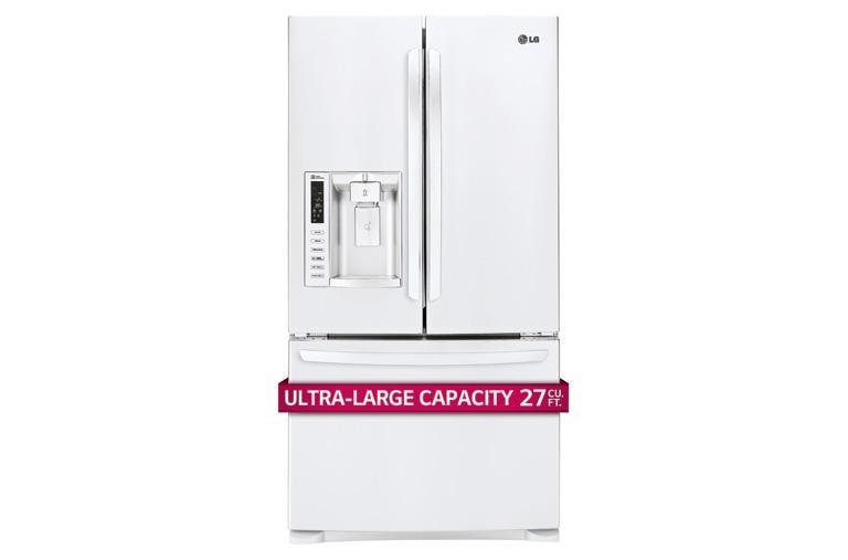 Genial 27 Cu. Ft. French Door Refrigerator
