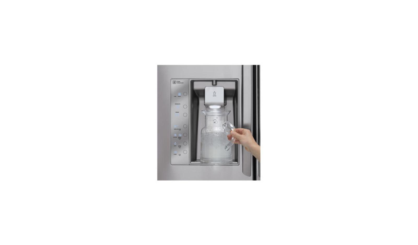 LG LFX31945ST: 3-Door Door-In-Door Refrigerator | LG USA on refrigeror ice water filter, kenmore ice and water filter, kitchenaid fridge filter replacement, whirlpool ice and water filter,