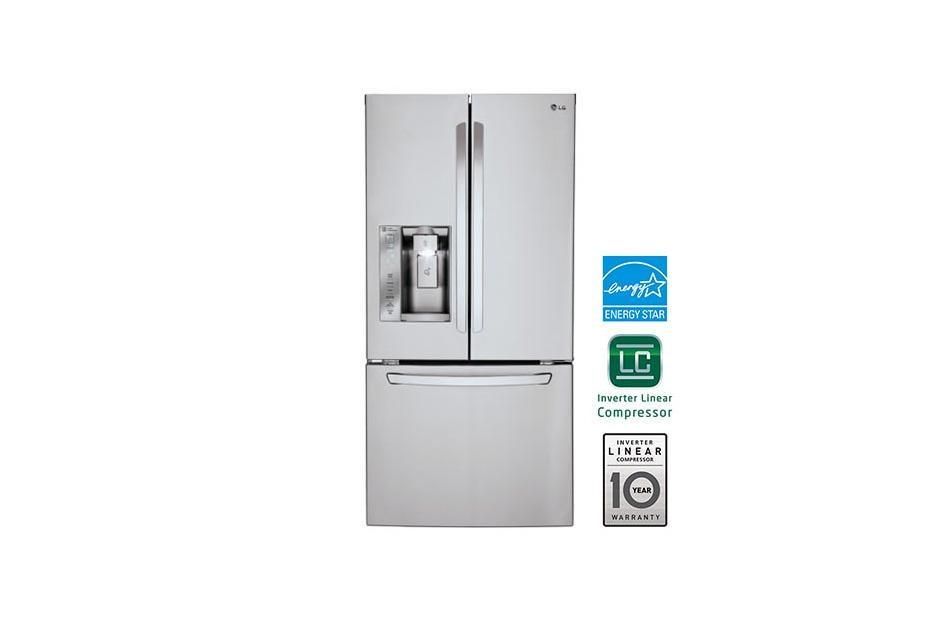 Lg Lfxs24623s Ultra Capacity 3 Door French Door