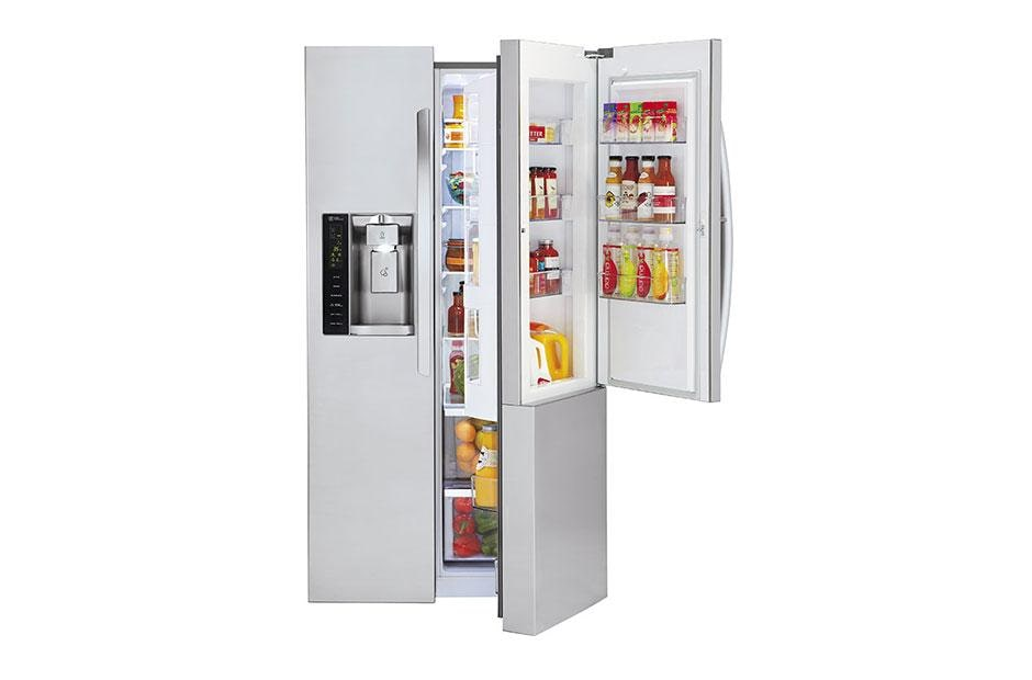 LSXS26366S  sc 1 st  LG & LG LSXS26366S: Side-by-Side Refrigerator with Door-in-Door | LG USA