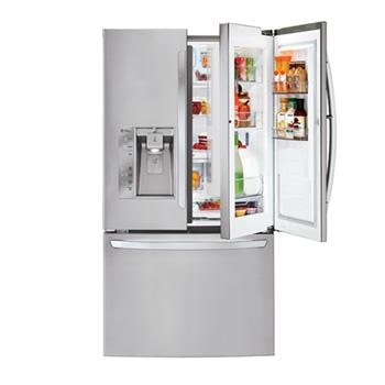 Mega Capacity 3-Door French Door Refrigerator with Door-